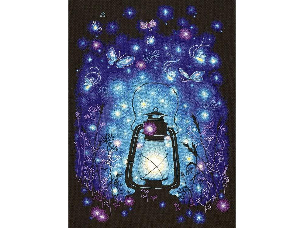 Набор для вышивания «Наш волшебный вечер»Вышивка крестом Чудесная игла<br><br>