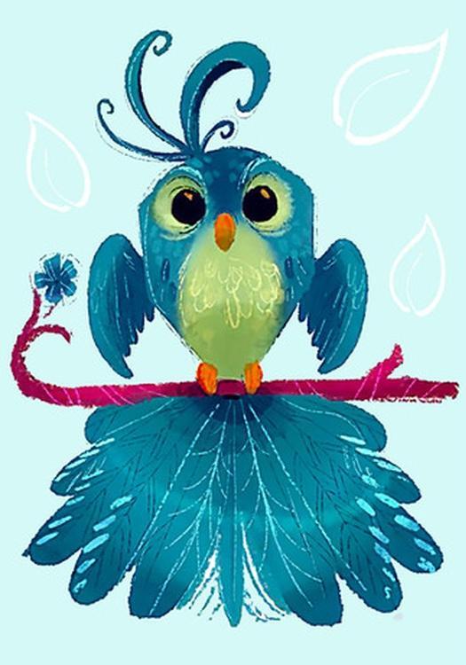 Алмазная вышивка «Птица Удачи»Алмазная вышивка Гранни<br><br><br>Артикул: Ag 150<br>Основа: Холст без подрамника<br>Сложность: средние<br>Размер: 19x27 см<br>Выкладка: Полная<br>Количество цветов: 18<br>Тип страз: Квадратные