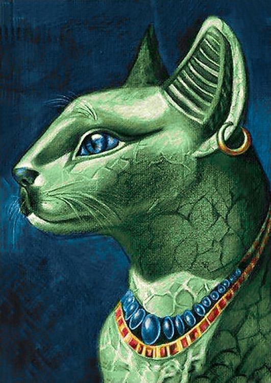 Алмазная вышивка «Изумрудная кошка»Алмазная вышивка Гранни<br>Друзья, обратите внимание, цветовая гамма сюжета на фотографии, которую вы видите на сайте, иногда может иметь незначительные отличия от цветовой гаммы страз в наборе<br><br>Артикул: Ag 6026<br>Основа: Холст без подрамника<br>Сложность: средние<br>Размер: 27x38 см<br>Выкладка: Полная<br>Количество цветов: 28<br>Тип страз: Квадратные