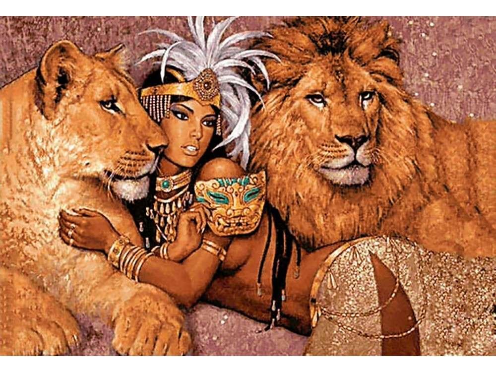 Алмазная вышивка «Богиня Африки»Алмазная вышивка Гранни<br><br><br>Артикул: Ag 6038<br>Основа: Холст без подрамника<br>Сложность: очень сложные<br>Размер: 48x70 см<br>Выкладка: Полная<br>Количество цветов: 43<br>Тип страз: Квадратные