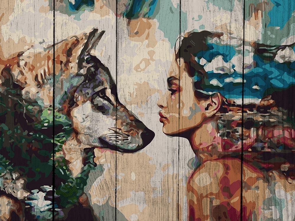 Картина по номерам по дереву Dali «Единство» Димитры МиланКартины по номерам по дереву Dali<br><br><br>Артикул: WS001<br>Основа: Деревянное панно<br>Сложность: сложные<br>Размер: 40x50 см<br>Количество цветов: 30