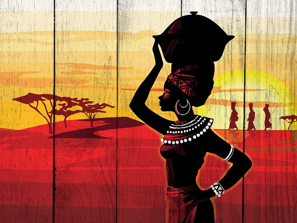 Картина по номерам по дереву Dali «Африка»Картины по номерам по дереву Dali<br><br><br>Артикул: WS005<br>Основа: Деревянное панно<br>Сложность: средние<br>Размер: 40x50 см<br>Количество цветов: 22