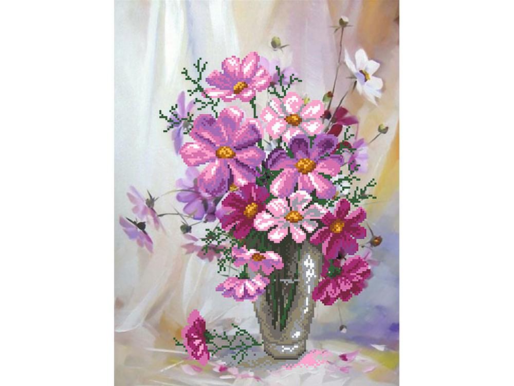 Вышивка бисером цветы матренин посад 30