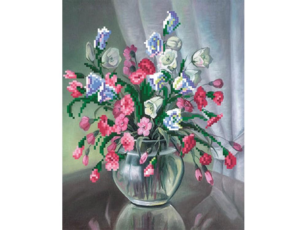 Вышивка бисером цветы матренин посад 32