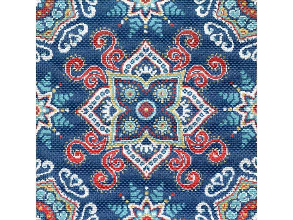 Набор для вышивания «Калейдоскоп»Вышивка крестом Матренин Посад<br><br><br>Артикул: 1746/Н<br>Основа: хлопок К5.5<br>Размер: 41x41 см<br>Техника вышивки: несчетный крест<br>Тип схемы вышивки: Цветная схема<br>Размер вышитой работы: 34x34 см<br>Количество цветов: 5<br>Заполнение: Частичное<br>Рисунок на канве: нанесён рисунок и схема<br>Техника: Вышивка крестом<br>Нитки: нитки мулине ПНК им. Кирова
