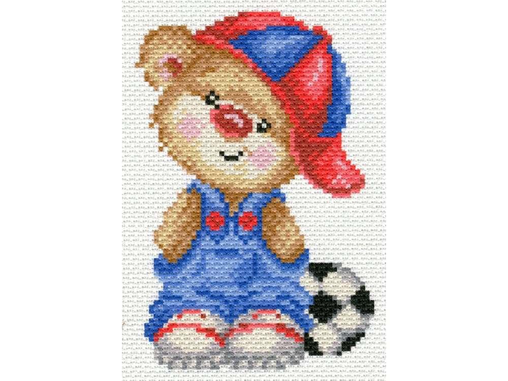 Набор для вышивания «Футболист»Вышивка крестом<br><br>