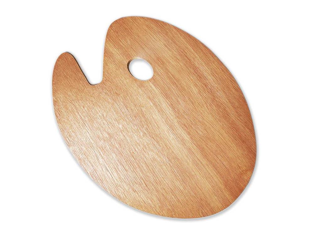 Овальная деревянная палитра, 20x30 смАксессуары для рисования картин по номерам<br>Удобно пользоваться для рисования и смешивания красок. Традиционная форма из натурального дерева - залог комфортного рисования. Легко очищается от излишков краски.<br><br>Артикул: 195021<br>Размер: 20x30 см<br>Материал: дерево