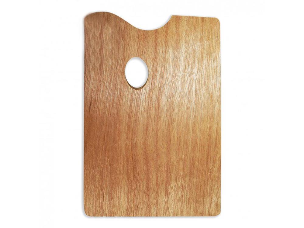 Прямоугольная деревянная палитра, 20x30 смАксессуары для рисования картин по номерам<br>Удобно пользоваться для рисования и смешивания красок. Традиционная форма из натурального дерева - залог комфортного рисования. Легко очищается от излишков краски.<br><br>Артикул: 195029<br>Размер: 20x30 см<br>Материал: дерево