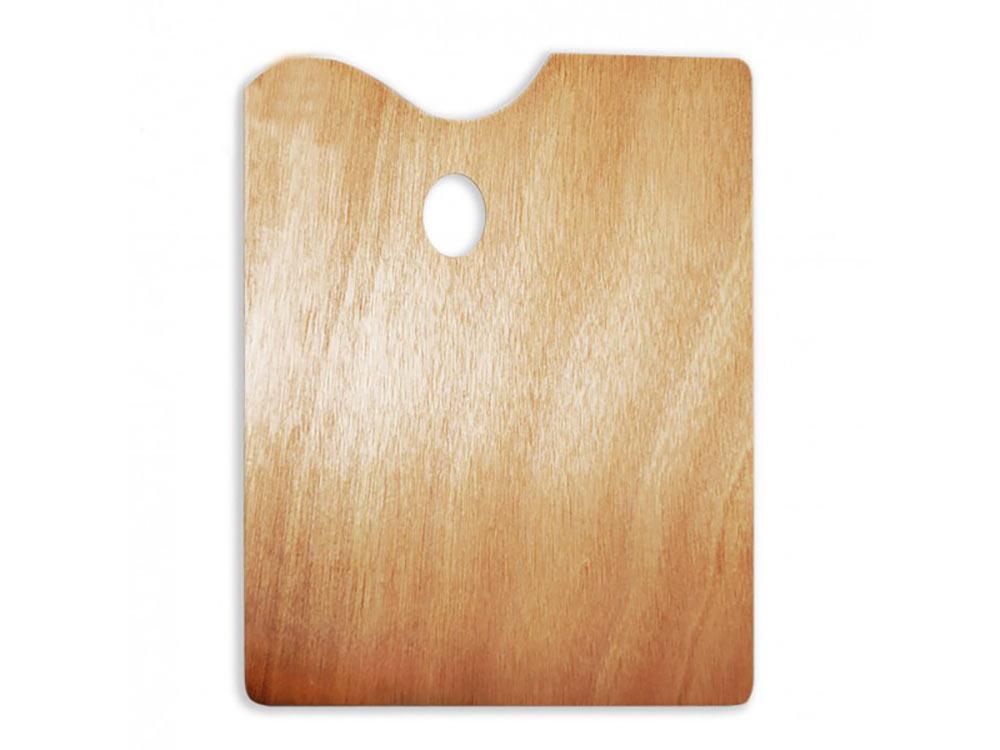 Прямоугольная деревянная палитра, 30x40 смАксессуары для рисования картин по номерам<br>Удобно пользоваться для рисования и смешивания красок. Традиционная форма из натурального дерева - залог комфортного рисования. Легко очищается от излишков краски.<br><br>Артикул: 195033<br>Размер: 30x40 см<br>Материал: дерево