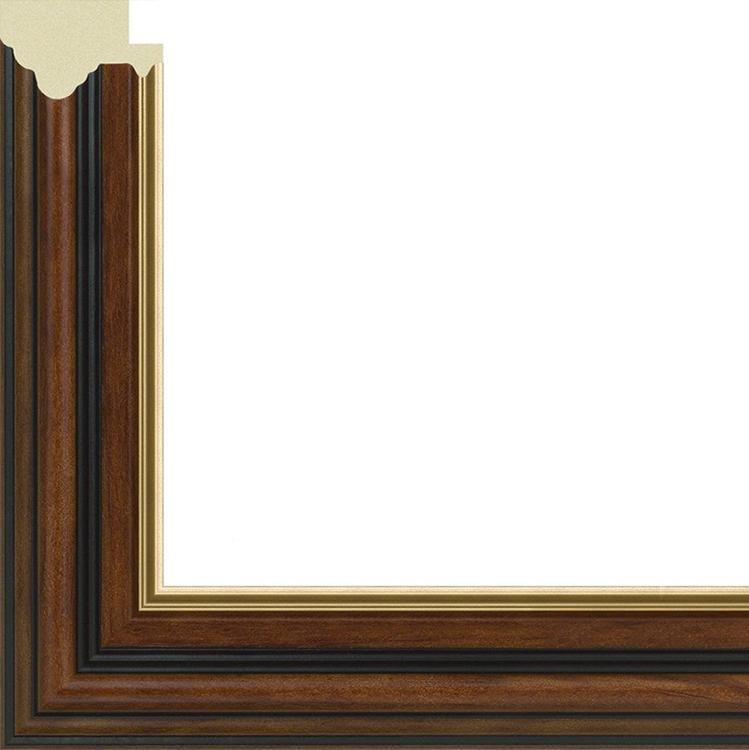 Рамка со стеклом и подставкой «Woodstock»Багетные рамки<br>Багетная рамка со стеклом для картин на картоне, алмазной вышивки или фото.<br> <br> Небольшие по размеру работы (21х30 см) отлично смотрятся в рамке со стеклом. Вы можете повесить картину на стену, а можете воспользоваться подставкой, которая входит в компле...<br><br>Артикул: 2130/43<br>Размер: 21x30 см<br>Цвет: Коричневый с золотом<br>Ширина: 34 мм<br>Материал багета: Пластик<br>Толщина: 10 мм<br>Глубина багета: 1 см
