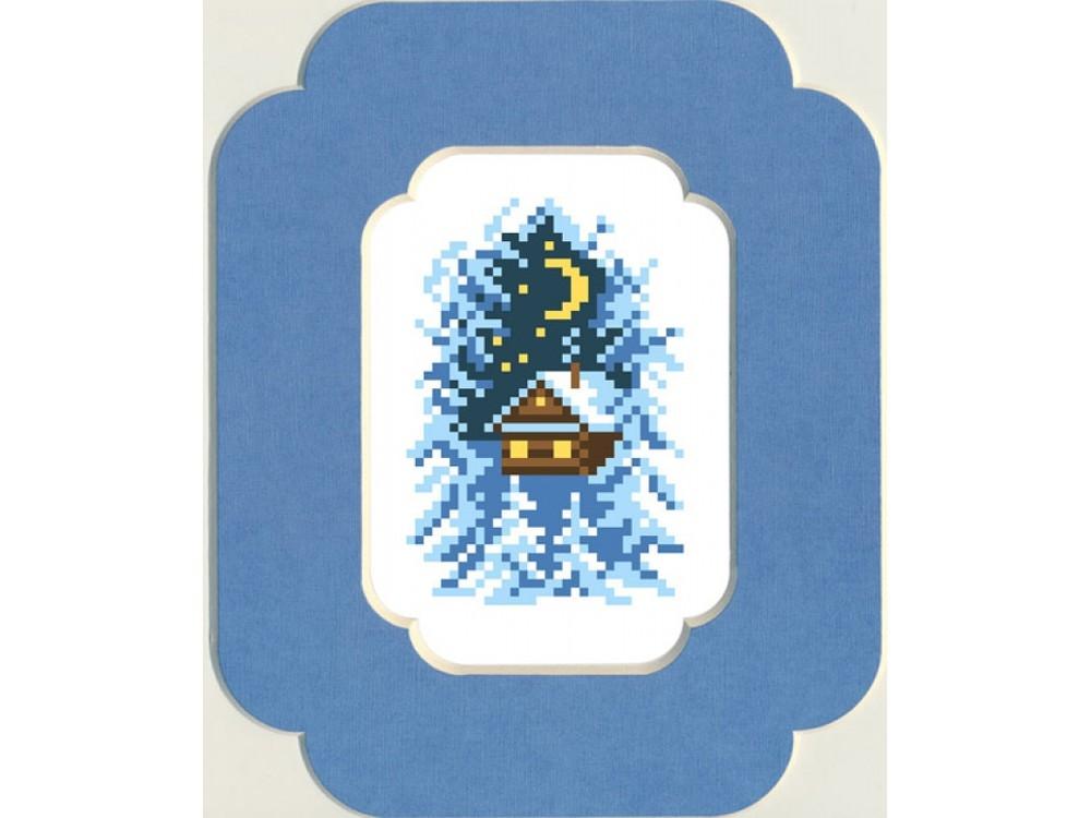 Набор вышивки бисером «Накануне Рождества»Вышивка бисером Матренин Посад<br><br><br>Артикул: 0051/БП<br>Основа: ткань<br>Размер: 13x18 см<br>Техника вышивки: бисер<br>Тип схемы вышивки: Цветная схема<br>Размер вышитой работы: 7x10 см<br>Количество цветов: 7<br>Заполнение: Частичное<br>Рисунок на канве: нанесён рисунок и схема<br>Техника: Вышивка бисером