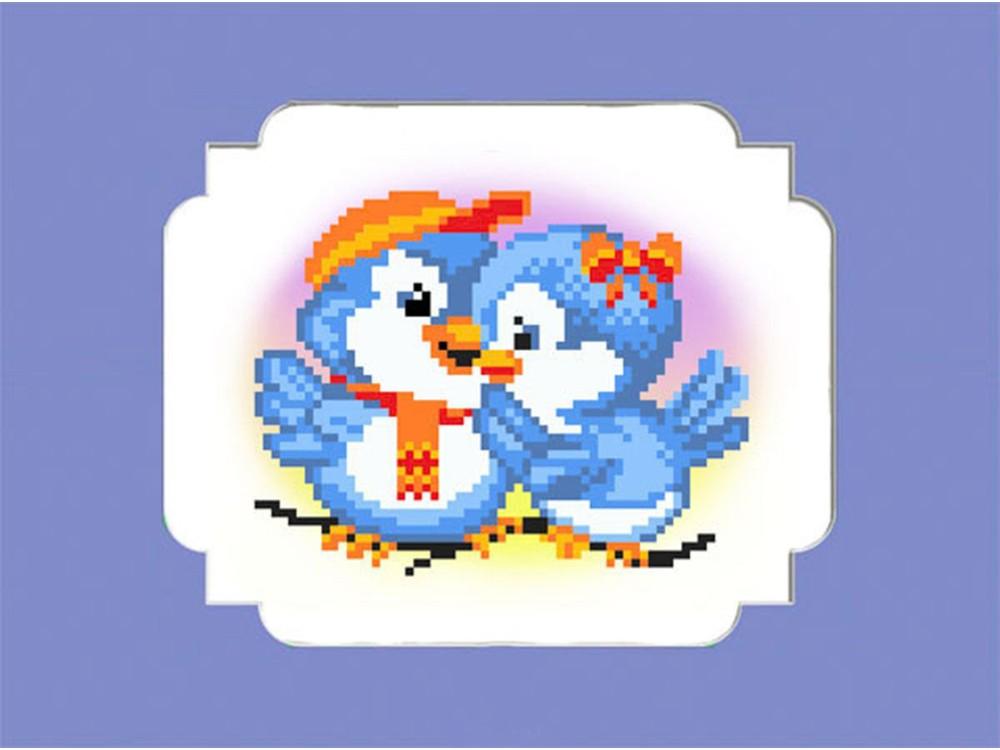 Набор вышивки бисером «Птички»Вышивка бисером Матренин Посад<br><br><br>Артикул: 0061/БП<br>Основа: ткань<br>Размер: 24x26 см<br>Техника вышивки: бисер<br>Тип схемы вышивки: Цветная схема<br>Размер вышитой работы: 14x16 см<br>Количество цветов: 8<br>Заполнение: Частичное<br>Рисунок на канве: нанесён рисунок и схема<br>Техника: Вышивка бисером