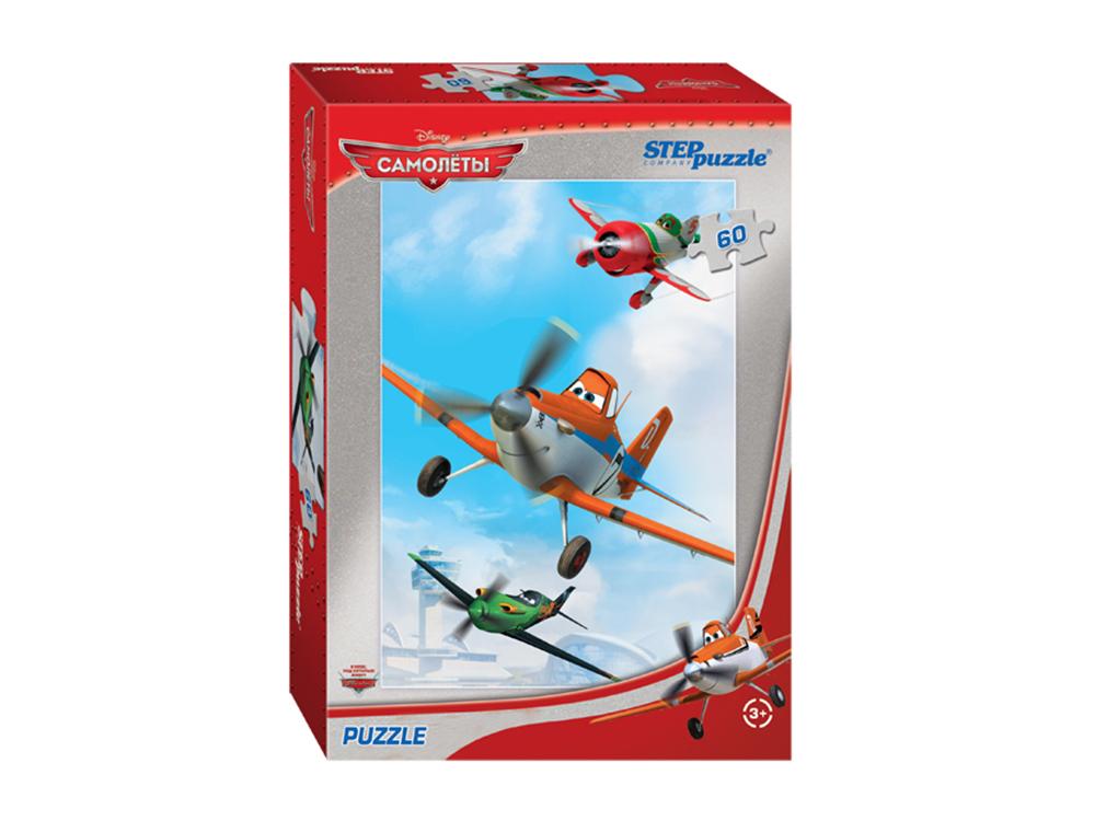 Пазлы «Самолёты»Пазлы от производителя Step Puzzle<br><br><br>Артикул: 81123<br>Размер: 33x23 см<br>Размер упаковки: 19,5x13,7x3,5 см<br>Возраст: от 3 лет