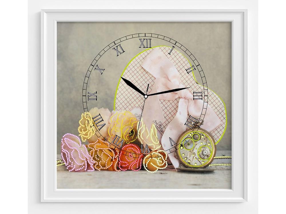 Набор для вышивания часов «Сердце времени»