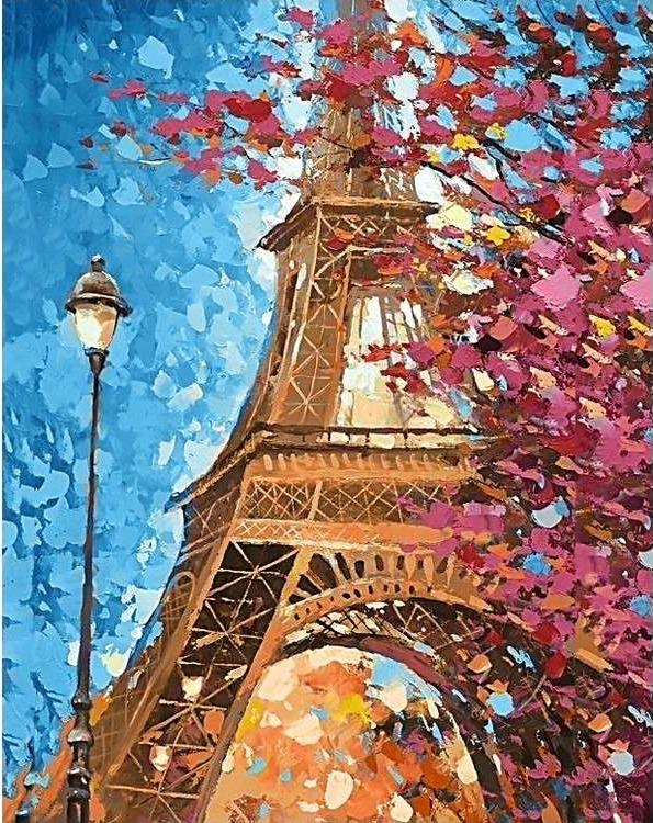 Алмазная вышивка «Парижские краски»Алмазная вышивка Гранни<br><br><br>Артикул: Ag714<br>Основа: Холст без подрамника<br>Сложность: очень сложные<br>Размер: 38x48 см<br>Выкладка: Полная<br>Количество цветов: 38