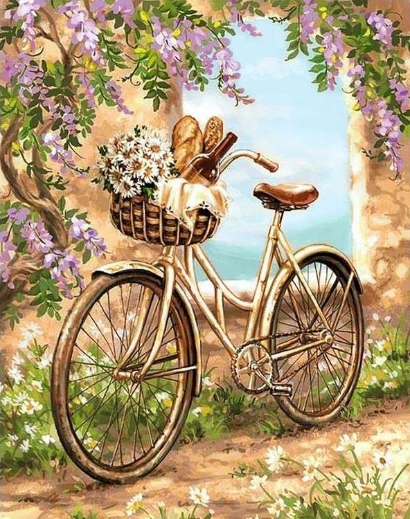 Алмазная вышивка «Поездка в город» Доны ГелсингерАлмазная вышивка Гранни<br><br><br>Артикул: Ag715<br>Основа: Холст без подрамника<br>Сложность: очень сложные<br>Размер: 38x48 см<br>Выкладка: Полная<br>Количество цветов: 42