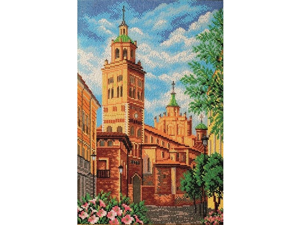 Набор вышивки бисером «Теруэль. Собор Св.Марии»Вышивка бисером<br><br>