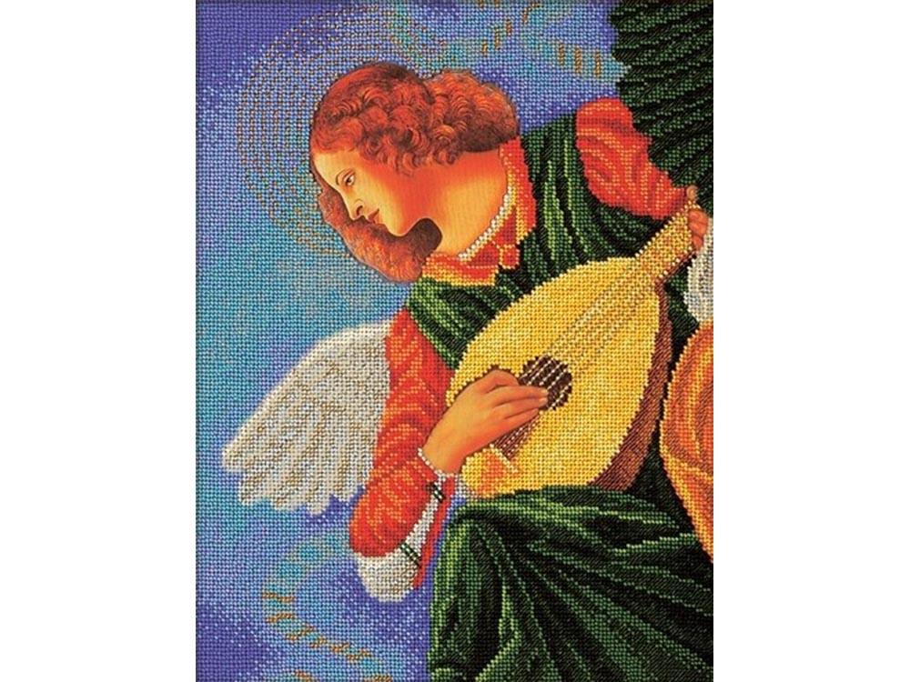 Набор вышивки бисером «Музицирующий ангел. Терцо»Вышивка бисером<br><br>