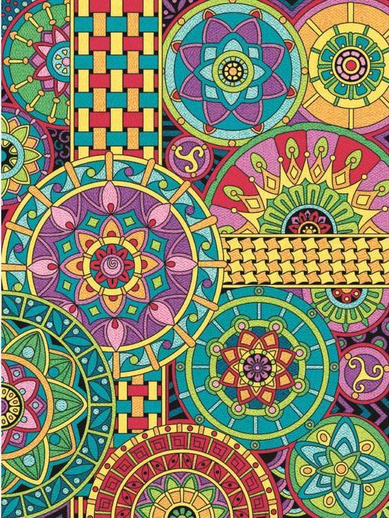 Картина по номерам «Мандала» Анжелы ПортерРаскраски по номерам Dimensions<br>Картина по номерам Мандала раскрашивается цветными карандашами!<br> <br> Dimensions - один из самых известных брендов товаров для хобби. Картины по номерам от этого производителя безупречны по качеству всех составляющих - от картонной основы до карандашей. ...<br><br>Артикул: DMS-73-91539<br>Основа: Картон<br>Сложность: легкие<br>Размер: 23x31 см<br>Количество цветов: 12<br>Техника рисования: Со смешиванием цветов