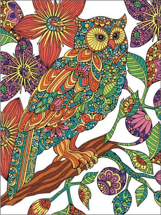Картина по номерам «Цветочная сова» Валентины ХарперРаскраски по номерам Dimensions<br>Картина по номерам «Цветочная сова» раскрашивается цветными карандашами!<br> <br> Dimensions - один из самых известных брендов товаров для хобби. Картины по номерам от этого производителя безупречны по качеству всех составляющих - от картонной основы до каран...<br><br>Артикул: DMS-73-91540<br>Основа: Картон<br>Сложность: легкие<br>Размер: 23x31 см<br>Количество цветов: 12<br>Техника рисования: Со смешиванием цветов