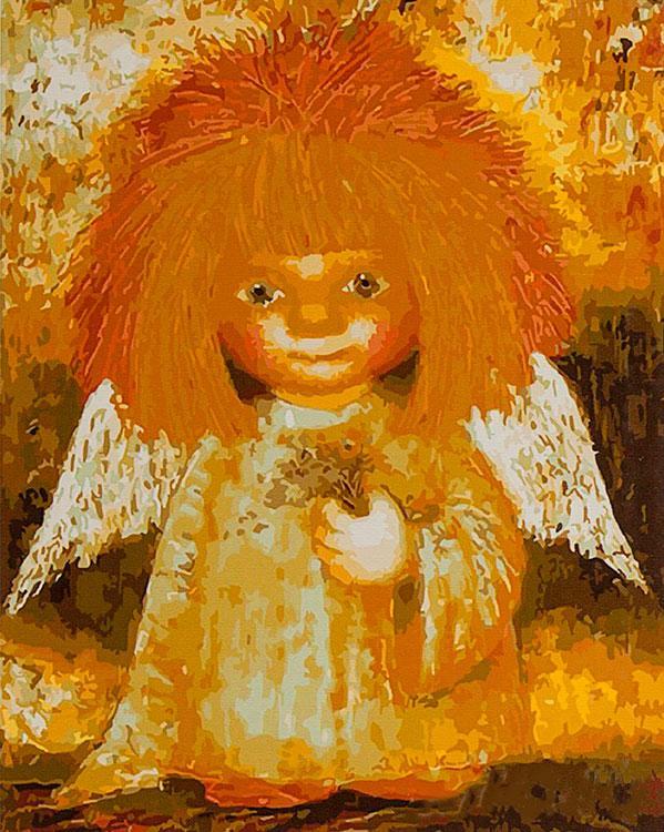 Картина по номерам «Солнечный ангел» Галины ЧувиляевойPaintboy (Premium)<br><br><br>Артикул: GX3545<br>Основа: Холст<br>Сложность: средние<br>Размер: 40x50 см<br>Количество цветов: 25<br>Техника рисования: Без смешивания красок