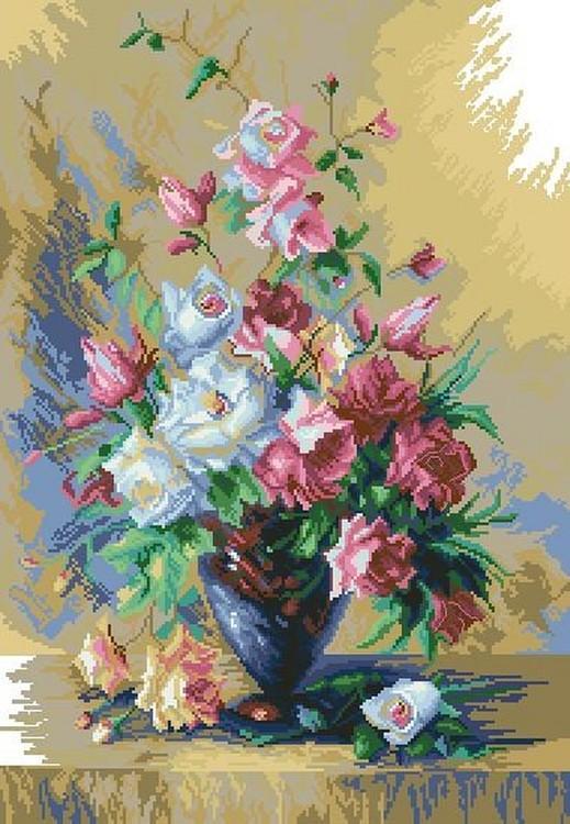 Алмазная вышивка «Букет роз»Алмазная вышивка<br><br>