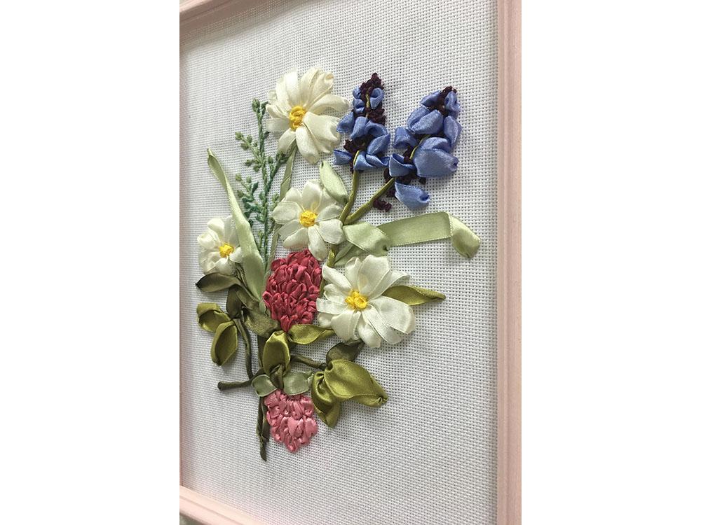Вышивка лентами картинки цветы 70