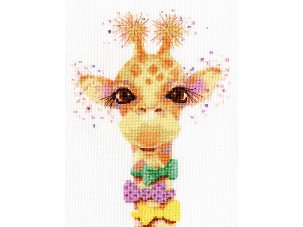 Набор для вышивания «Влюбленный жираф» Е. СоловьевойВышивка крестом Золотое Руно<br><br><br>Артикул: Д-061<br>Основа: канва Aida 16<br>Размер: 22,5x16,5 см<br>Техника вышивки: счетный крест<br>Тип схемы вышивки: Черно-белая схема<br>Цвет канвы: Белый<br>Количество цветов: 21<br>Заполнение: Частичное<br>Рисунок на канве: не нанесён<br>Техника: Вышивка крестом<br>Нитки: мулине Madeira