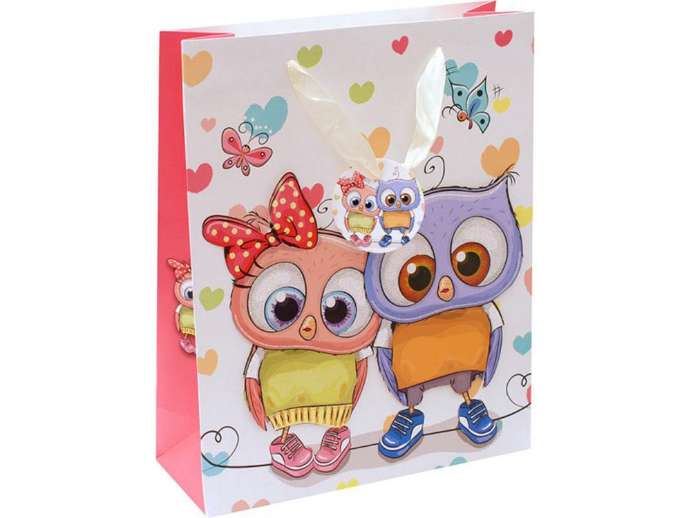 Подарочный пакет «Влюбленная парочка»Подарочные пакеты<br>Подарочные бумажные пакеты – один из наиболее популярных видов современной подарочной упаковки. Всегда можно подобрать пакет по назначению, по цветовым предпочтениям, по оформлению или размеру. Доступная цена и богатство выбора делают бумажные пакеты ...<br>