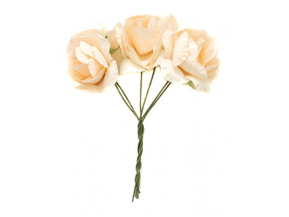 Набор цветов «Азалия светло-коралловая»Бумага и материалы для скрапбукинга<br><br><br>Артикул: 4521-SB<br>Размер: (бутона) 2,5-3 см<br>Количество: 12 шт.<br>Материал: Бумага, проволока