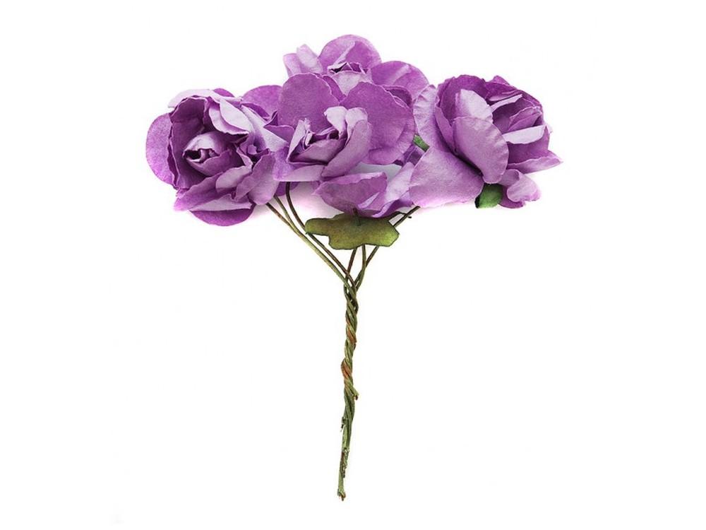 Набор цветов «Бальзамин светло-фиолетовый»Бумага и материалы для скрапбукинга<br><br><br>Артикул: 4554-SB<br>Размер: (бутона) 3-3,5 см<br>Количество: 12 шт.<br>Материал: Бумага, проволока