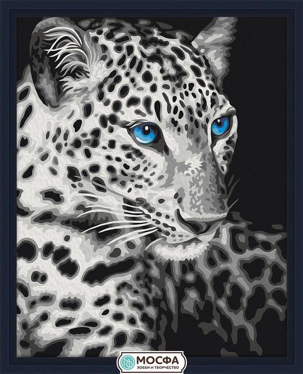 Картина по номерам «Леопард»Раскраски по номерам Мосфа<br>Бренд Мосфа - это новый российский производитель картин по номерам, яркие сюжеты и качество комплектующих премиум-класса.<br><br><br>Особенности наборов<br><br>акриловые краски безопасны для здоровья и окружающей среды, упакованы в специальные вакуумные пакетики, ...<br><br>Артикул: 7C-0092<br>Основа: Холст<br>Сложность: легкие<br>Размер: 40x50 см<br>Количество цветов: 9<br>Техника рисования: Без смешивания красок