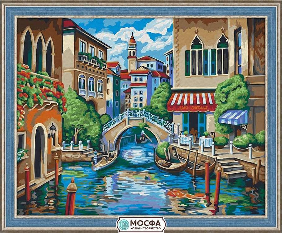 Картина по номерам «Отдых в Венеции»Раскраски по номерам<br>Бренд Мосфа - это новый российский производитель картин по номерам, яркие сюжеты и качество комплектующих премиум-класса.<br><br><br>Особенности наборов<br><br>акриловые краски безопасны для здоровья и окружающей среды, упакованы в специальные вакуумные пакетики, ...<br>