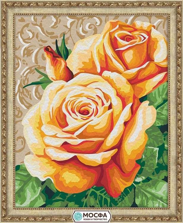 Картина по номерам «Чайные розы»Раскраски по номерам Мосфа<br>Бренд Мосфа - это новый российский производитель картин по номерам, яркие сюжеты и качество комплектующих премиум-класса.<br><br><br>Особенности наборов<br><br>акриловые краски безопасны для здоровья и окружающей среды, упакованы в специальные вакуумные пакетики, ...<br><br>Артикул: 7C-0177<br>Основа: Холст<br>Сложность: легкие<br>Размер: 40x50 см<br>Количество цветов: 21<br>Техника рисования: Без смешивания красок