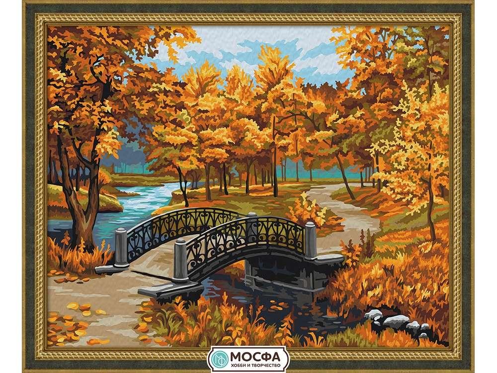 Картина по номерам «Осенний парк» Евгения ЛушпинаРаскраски по номерам Мосфа<br>Бренд Мосфа - это новый российский производитель картин по номерам, яркие сюжеты и качество комплектующих премиум-класса.<br><br><br>Особенности наборов<br><br>акриловые краски безопасны для здоровья и окружающей среды, упакованы в специальные вакуумные пакетики, ...<br><br>Артикул: 7C-0199<br>Основа: Холст<br>Сложность: сложные<br>Размер: 40x50 см<br>Количество цветов: 25<br>Техника рисования: Без смешивания красок