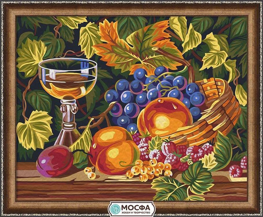 Картина по номерам «Праздник урожая»Раскраски по номерам Мосфа<br>Бренд Мосфа - это новый российский производитель картин по номерам, яркие сюжеты и качество комплектующих премиум-класса.<br><br><br>Особенности наборов<br><br>акриловые краски безопасны для здоровья и окружающей среды, упакованы в специальные вакуумные пакетики, ...<br><br>Артикул: 7C-0224<br>Основа: Холст<br>Сложность: средние<br>Размер: 40x50 см<br>Количество цветов: 29<br>Техника рисования: Без смешивания красок