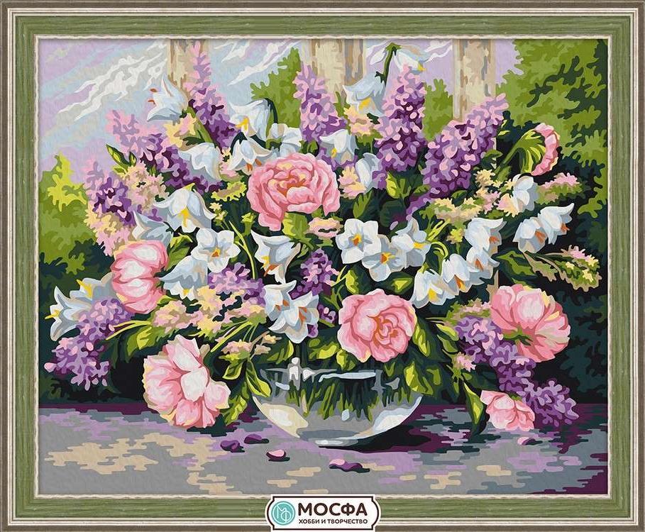 Картина по номерам «Садовый букет» Хайнца Шольнхаммера, «Садовый букет»