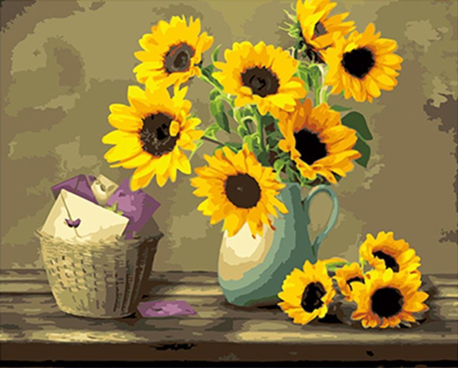 Картина по номерам «Осенние письма»Paintboy (Premium)<br><br><br>Артикул: GX4461<br>Основа: Холст<br>Сложность: сложные<br>Размер: 40x50 см<br>Количество цветов: 28<br>Техника рисования: Без смешивания красок