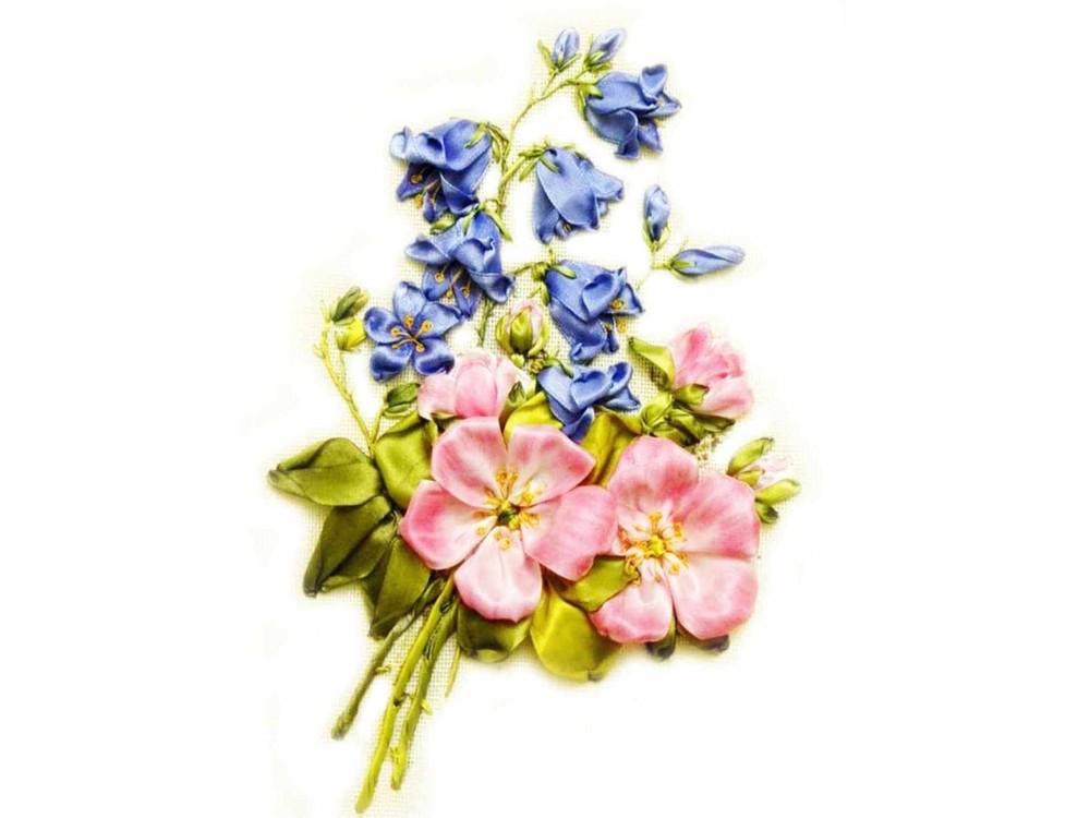 Вышивка лентами картинки цветы 94