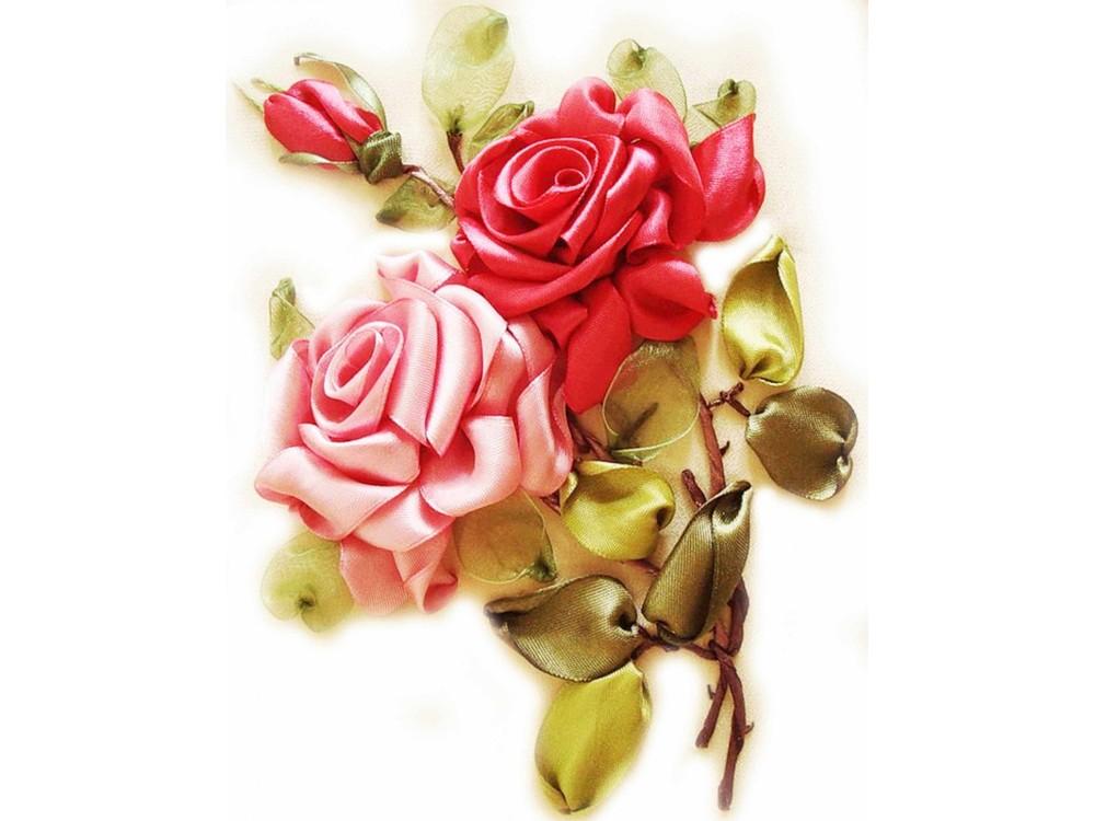 Вышивка лентами «Розы»Цветной<br>Новый формат наборов вышивки лентами от производителя Цветной - это комфорт во время творческого процесса, продуманная комплектация и красивая упаковка.<br>Особенности наборов<br><br>натуральная плотная белая ткань для вышивки лентами отлично держит форму и нат...<br><br>Артикул: VL007<br>Основа: канва<br>Размер: 20x30 см<br>Техника вышивки: ленты<br>Тип схемы вышивки: Цветная схема<br>Цвет канвы: Белый<br>Заполнение: Частичное<br>Рисунок на канве: нанесена схема<br>Техника: Вышивка лентами<br>Нитки: мулине