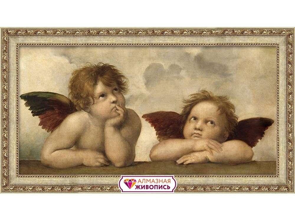 Алмазная вышивка «Ангелы Рафаэля»Алмазная Живопись<br><br>