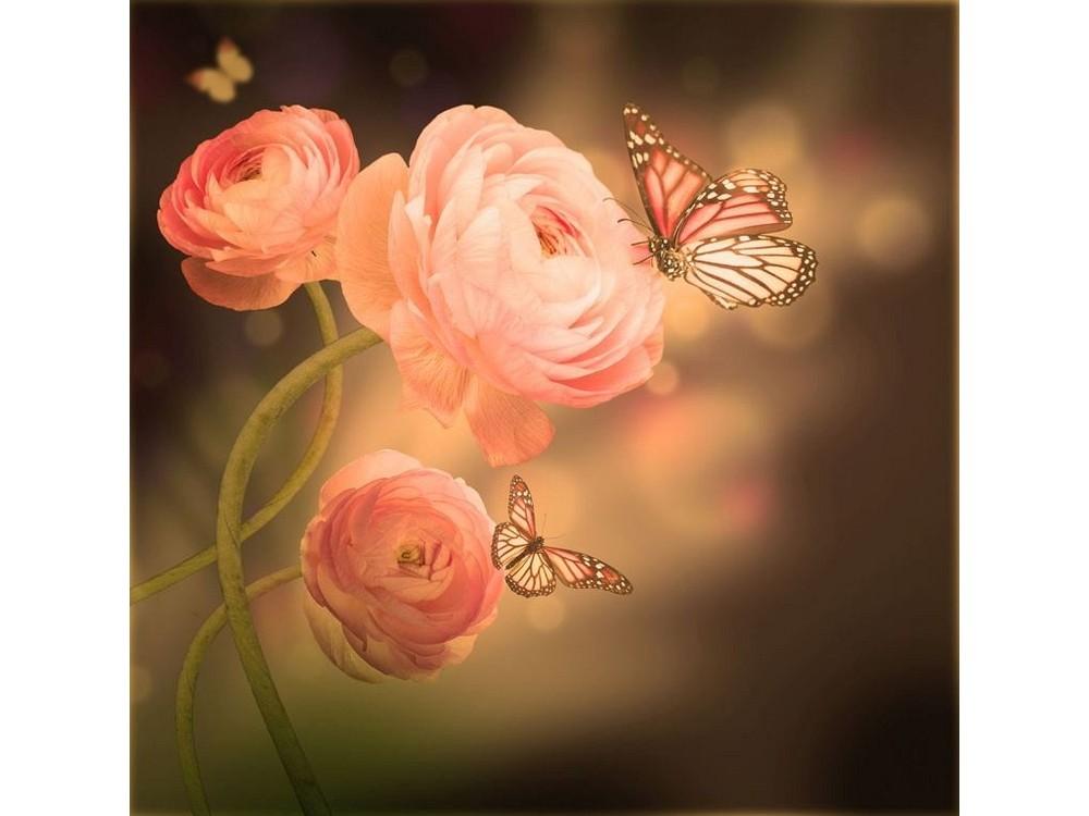 Набор вышивки бисером «Розовая фантазия»Вышивка бисером<br><br>