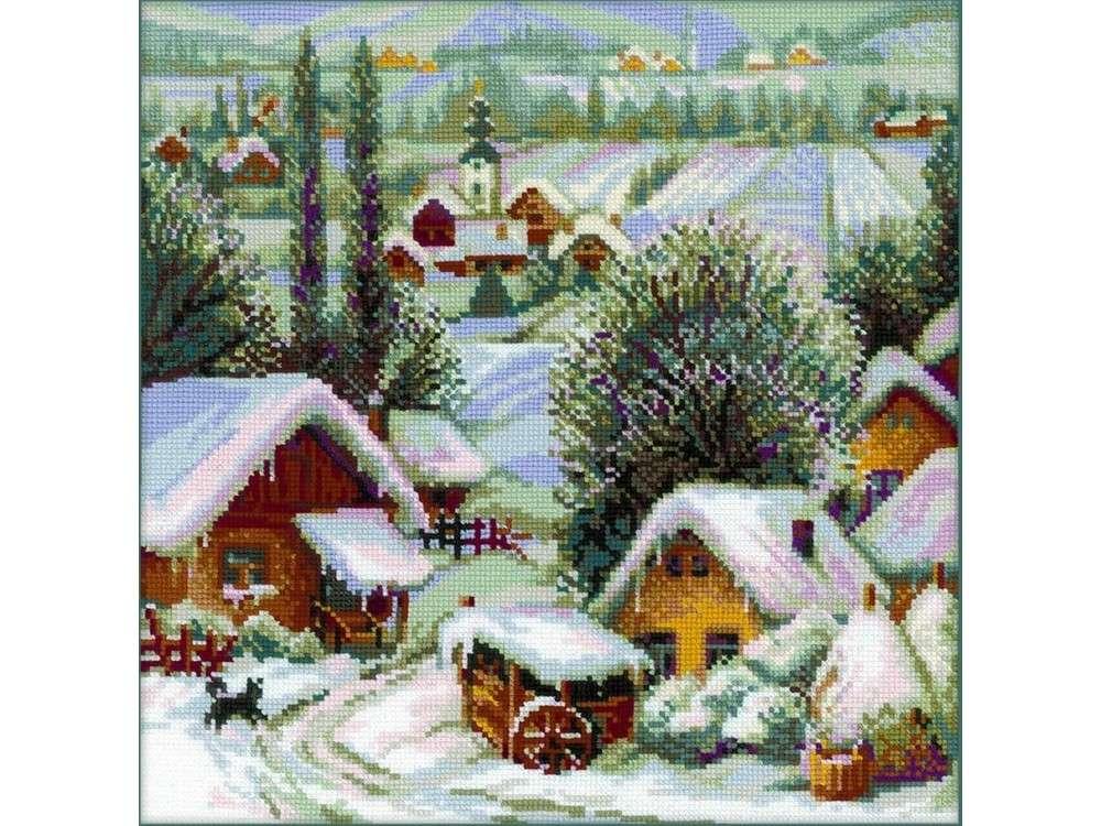 Набор для вышивания «Сербское село»Вышивка крестом Риолис<br><br>