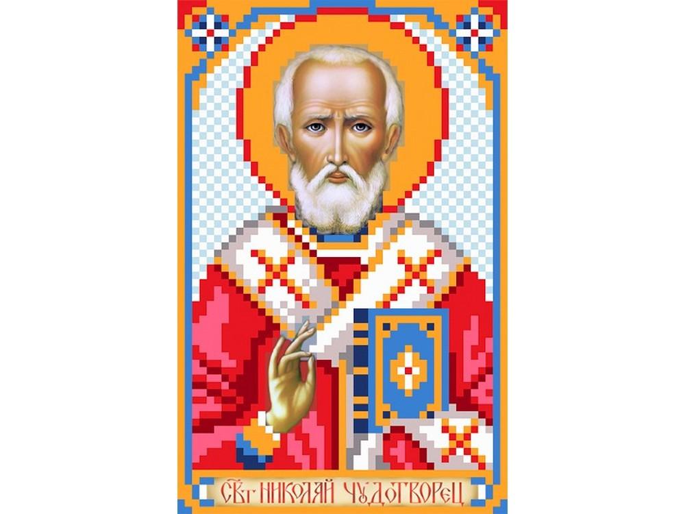 Набор вышивки бисером «Святой Николай Чудотворец»Вышивка бисером Матренин Посад<br><br>