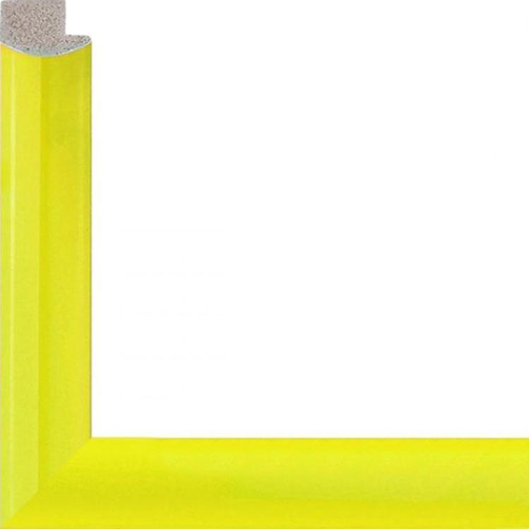Рамка без стекла для картин «Sun»Багетные рамки<br>Для картин на подрамнике на холсте, на картоне, алмазной мозаики. Стекло в комплект не входит. При необходимости приобретайте стекло отдельно.<br><br>Артикул: 4050/47<br>Размер: 40x50 см<br>Цвет: Желтый<br>Ширина: 20 мм<br>Материал багета: Пластик<br>Глубина багета: 6 мм