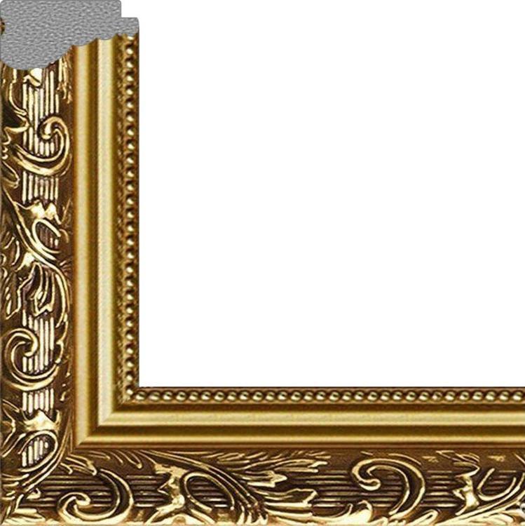 Рамка без стекла для икон «Oro»Багетные рамки<br><br><br>Артикул: m2228/51<br>Размер: 22,5x28,5 см<br>Цвет: Золото<br>Ширина: 40 мм<br>Материал багета: Пластик<br>Глубина багета: 5 мм