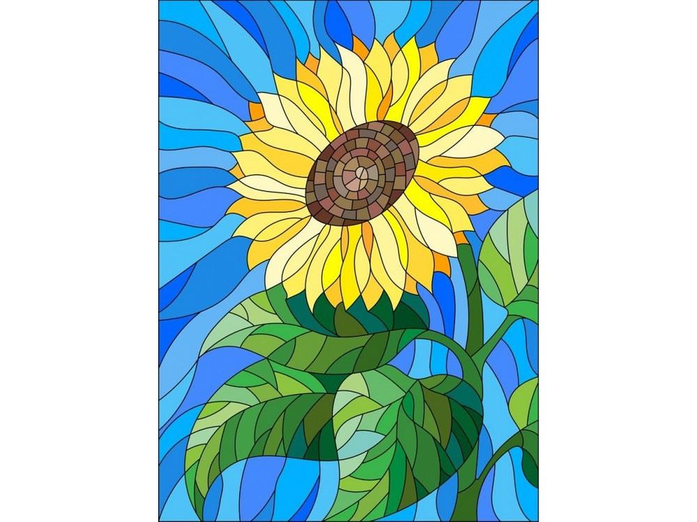 Набор для вышивания «Цветок солнца»Вышивка гладью Матренин Посад<br><br><br>Артикул: 5524/ГЛ<br>Основа: ткань<br>Размер: 28x34 см<br>Техника вышивки: гладь<br>Тип схемы вышивки: Цветная схема<br>Размер вышитой работы: 14x16 см<br>Количество цветов: 21<br>Заполнение: Частичное<br>Рисунок на канве: нанесён рисунок<br>Техника: Вышивка гладью<br>Нитки: нитки мулине ПНК им. Кирова