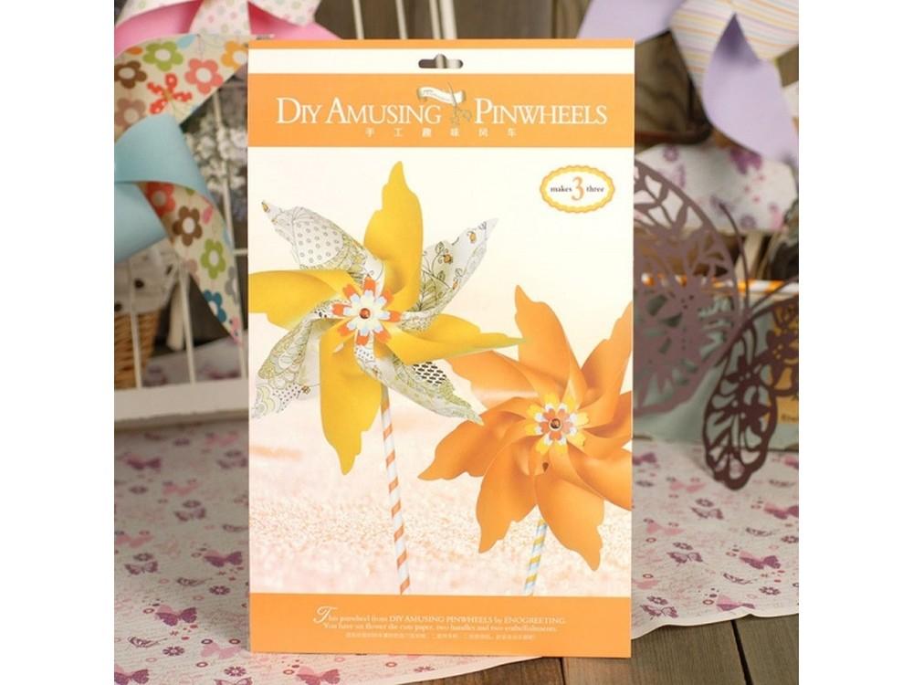 Набор для скрапбукинга «Ветерок оранжевый»Наборы для создания миниатюр<br><br><br>Артикул: AP002<br>Размер: 20x32,5 см