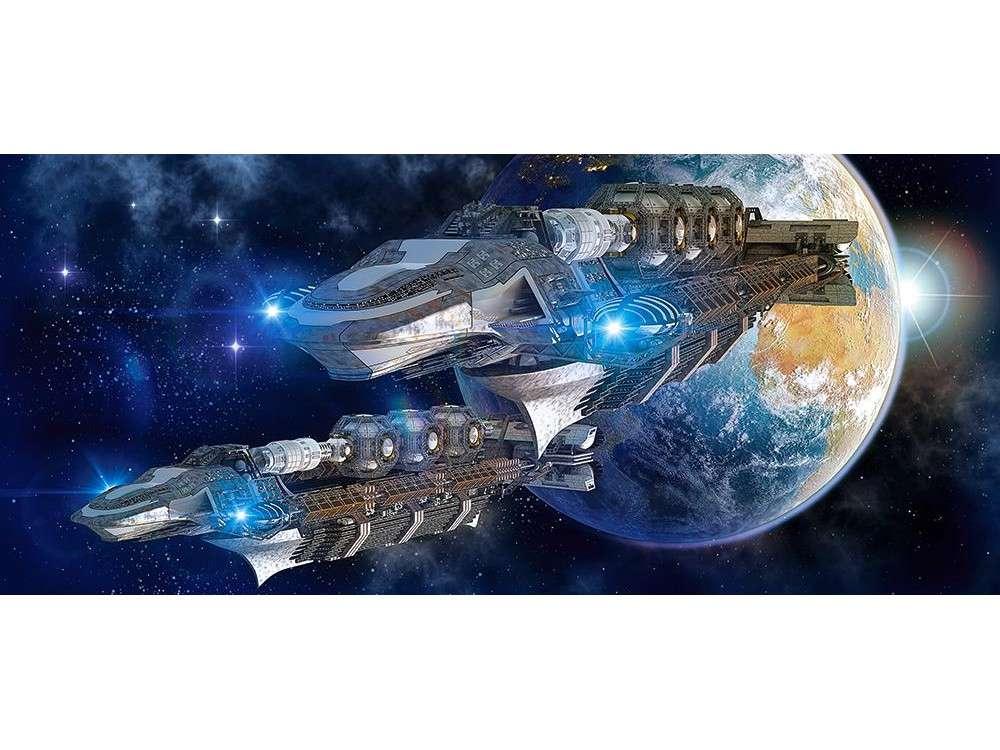 Пазлы «Космос»Пазлы от производителя Castorland<br><br><br>Артикул: B60047<br>Размер: 68x30 см