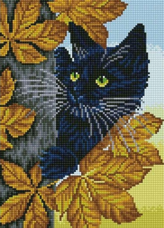 Алмазная вышивка «Черный кот»Цветной<br>Обновленная серия алмазной мозаики от бренда Цветной - это яркие популярные сюжеты и расширенная комплектация качественными составляющими. <br><br><br>Особенности алмазной вышивки от Цветной:<br><br>тканевый холст имеет ярко выраженную приятную на ощупь бархатисту...<br><br>Артикул: C207<br>Основа: Холст на подрамнике<br>Сложность: сложные<br>Размер: 30x40 см<br>Выкладка: Полная<br>Количество цветов: 20-35<br>Тип страз: Круглые непрозрачные (акриловые)